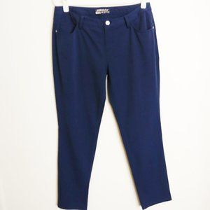 Nike Golf Dri-Fit Navy Flat Front Pant